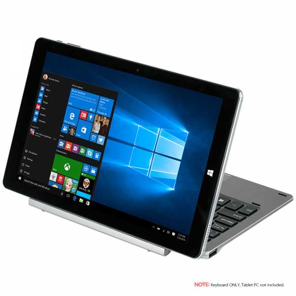 CHUWI HiBook Tablet PC Keyboard Dock Magnetic Keypad 0~120° Rotary Shaft